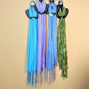 Multi-Colored Scarves NWT